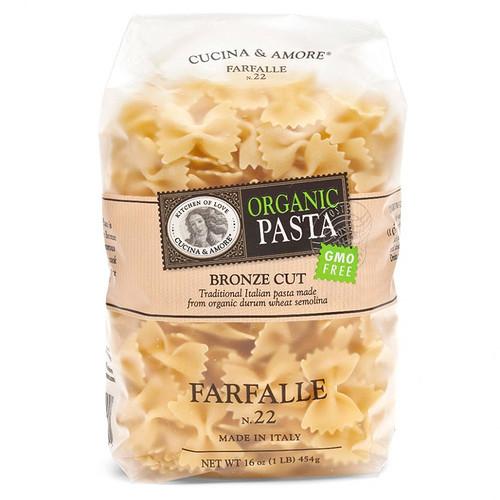 Farfalle Pasta # 22 - Organic, 454g