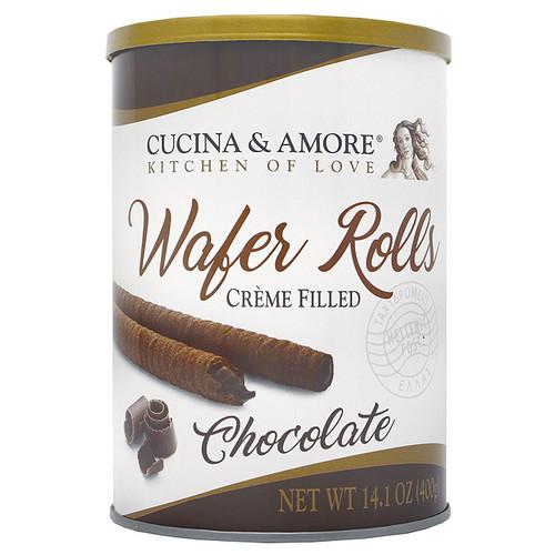 Wafer Rolls - Chocolate Cream Filled, 400g