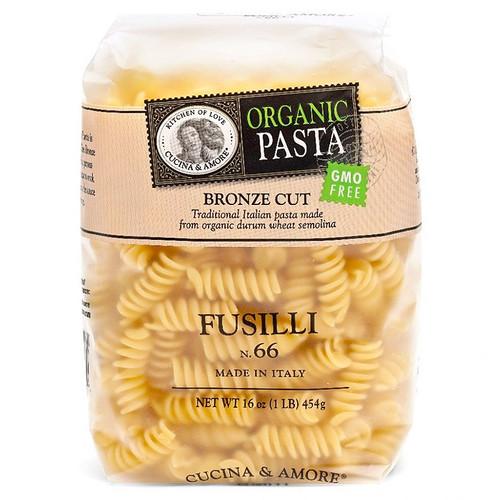 Fusilli Pasta # 66 - Organic, 454g