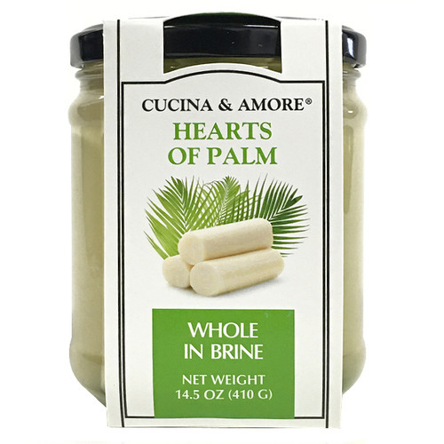 Hearts of Palm Jar - Whole in Brine, 410g