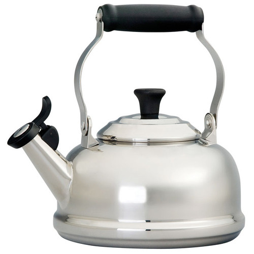 Classic Whistling Kettle - Stainless Steel, 1.6L