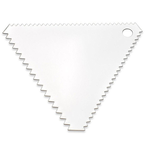 Icing Comb - Stainless Steel, 4-in