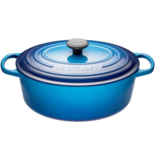 Blueberry Oval French Oven, 4.7L