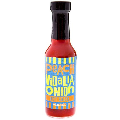 Peach Vidalia Onion Hot Sauce, 5oz