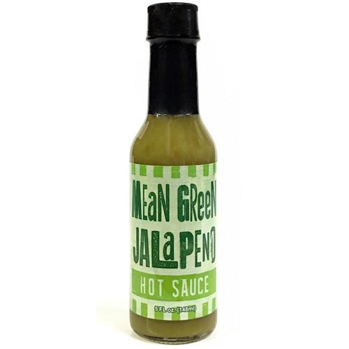 Mean Green Jalapeno Hot Sauce, 5oz