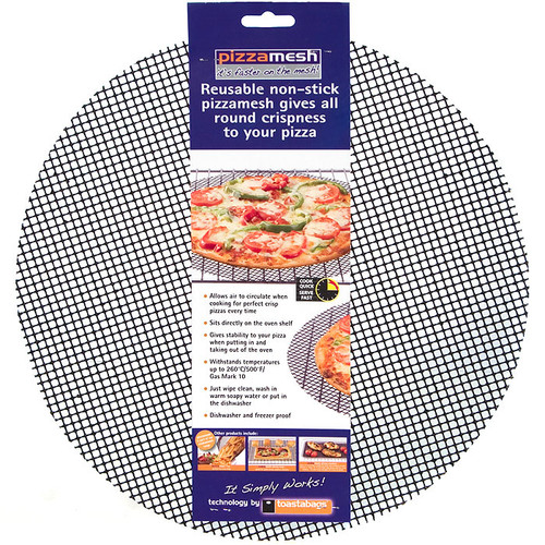 Pizzamesh Round  Non-Stick Baking Mesh, 14-in