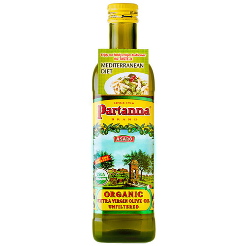 Organic Unfiltered - Extra Virgin Olive Oil, 750ml