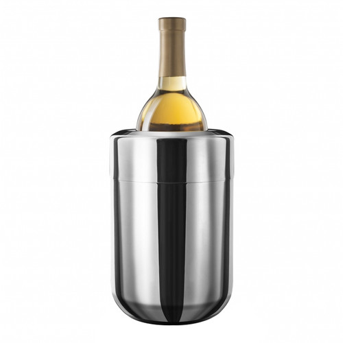 Wine Chiller with Gel Packs - Stainless Steel