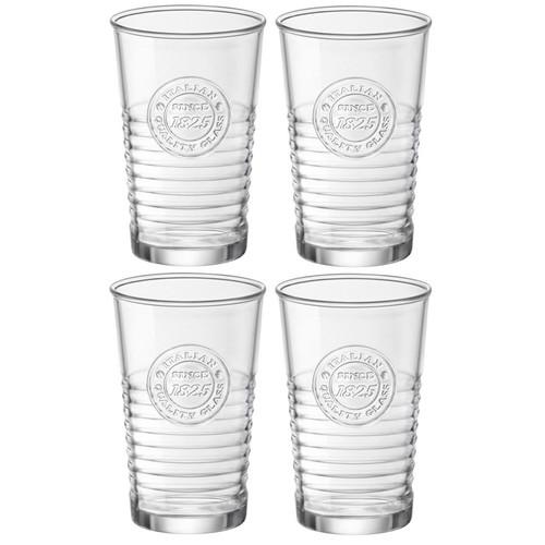 Officina 1825 Vintage Tumbler Glasses, Set of 4