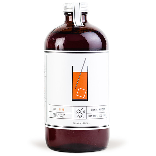 Handcrafted Tonic Maison Syrup, 17oz