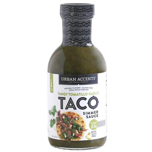 Taco Simmer Sauce - Tangy Tomatillo Garlic,  405g