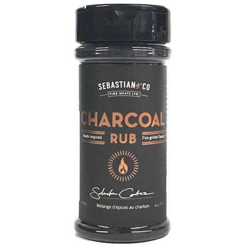 Charcoal Rub, 200g