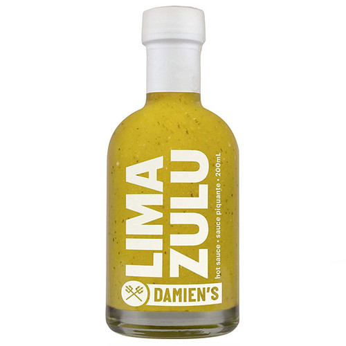LIMA ZULU Fresh Lime Hot Sauce, 200ml