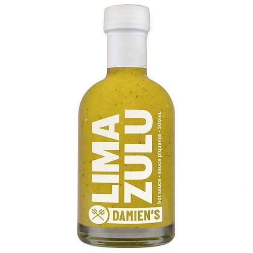 LIMA ZULU Fresh Lime Hot Sauce, 200ml