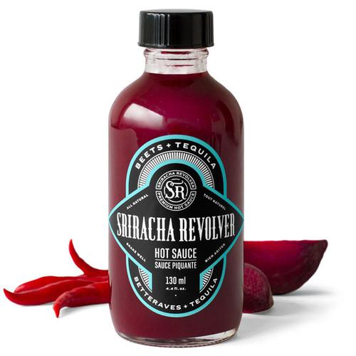 Beets + Tequila Sriracha Hot Sauce, 130ml