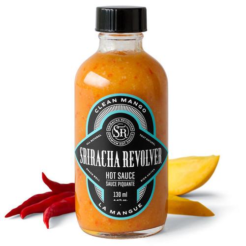 Clean Mango Sriracha Hot Sauce, 130ml