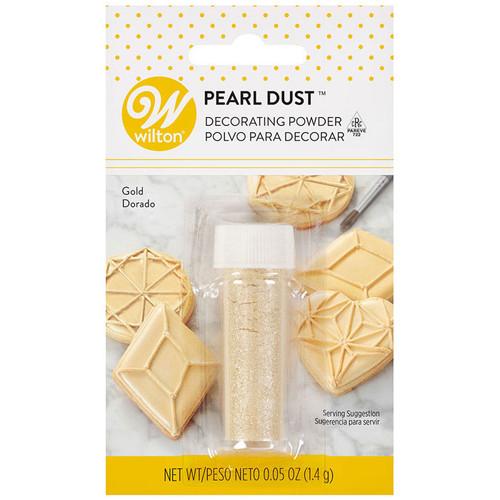 Pearl Dust Decorating Powder - Gold, 1.4g