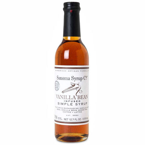 Vanilla Bean No 4 - Infused Simple Syrup, 375ml