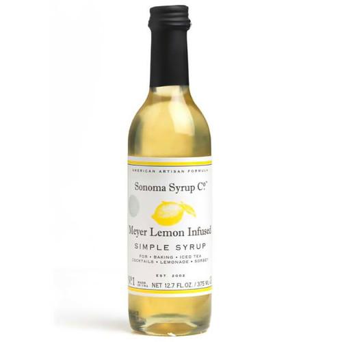 Meyer Lemon Simple Syrup, 375ml
