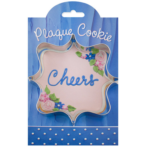 Square Plaque Cookie Cutter, 4-in
