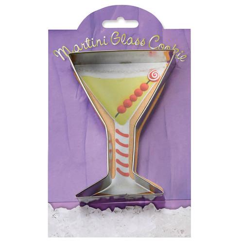 Martini Glass Cookie Cutter, 4-in