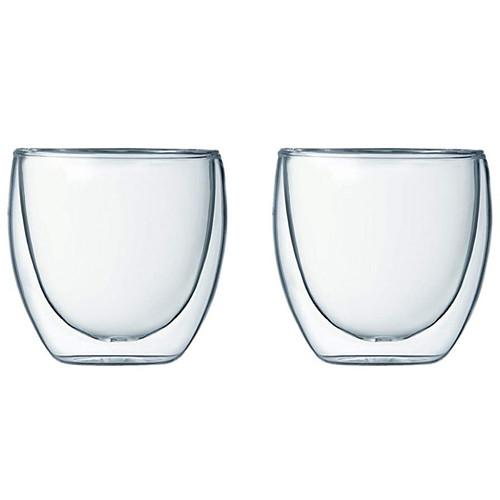 Pavina Double Wall Glass - Extra Small, Set of 2