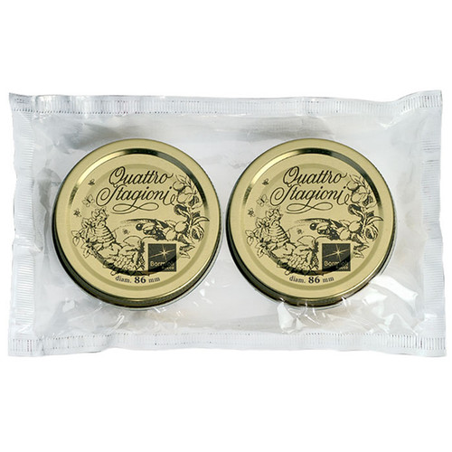 Quattro Stagioni Lids – 86mm, Pack of 2