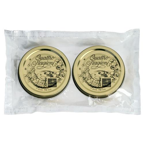 Quattro Stagioni Lids – 70mm, Pack of 2