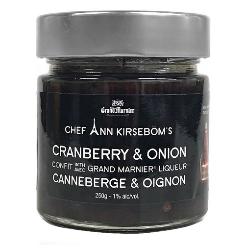 Cranberry & Onion Confit with Grand Marnier Liqueur, 250g
