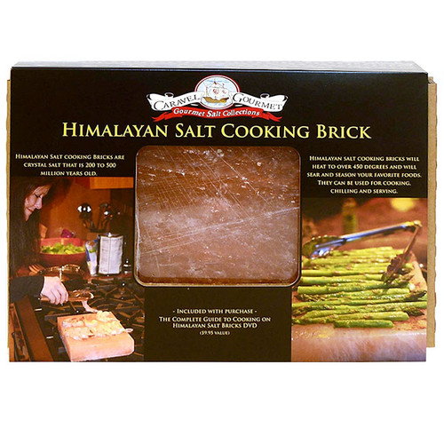 Himalayan Salt Cooking Brick, 8 x 8 x 1.5-in