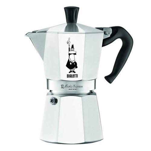 Moka Express Stovetop Coffee Maker, 6 Cup