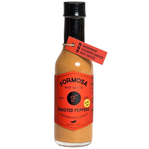 Roasted Peppers Hot Sauce, 148ml