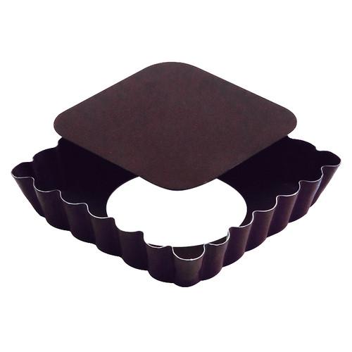 Square Tart Mould - Non-Stick Loose Bottom