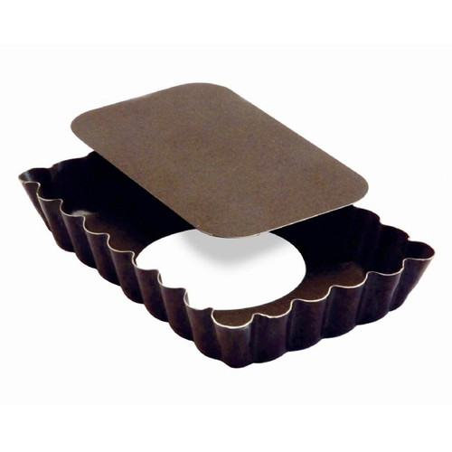 Rectangular Tart Mould - Non-Stick Loose Bottom