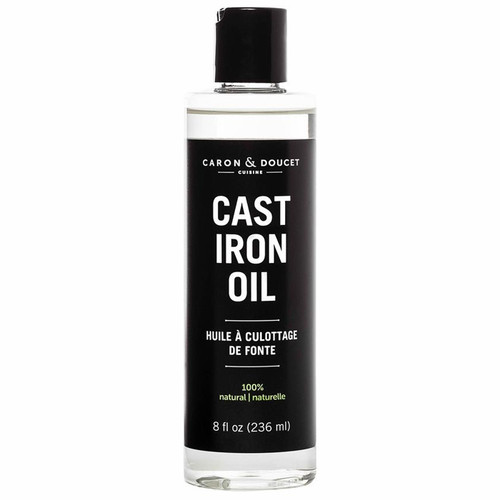 Cast Iron Oil - All Natural, 236ml
