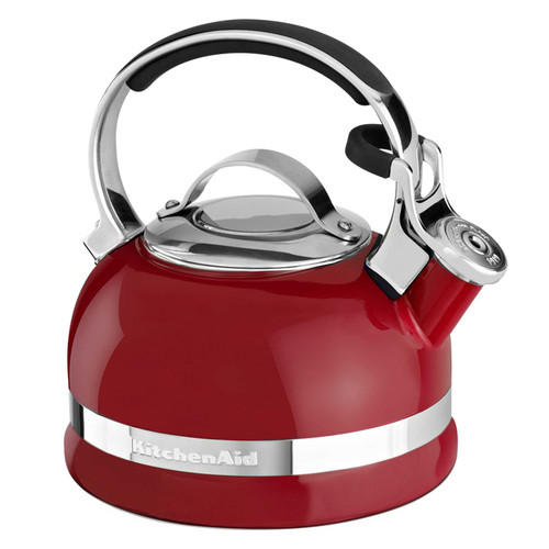 Kettle with Full Handle - Empire Red, 2Qt