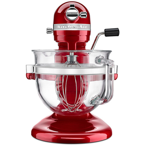Incredible Stand Mixer 6Qt Pro 6500 With Glass Bowl Candy Apple Red Home Interior And Landscaping Ponolsignezvosmurscom