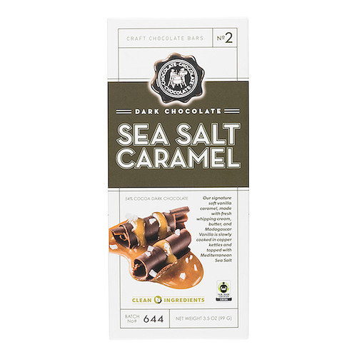Dark Chocolate Bar - Sea Salt Caramel, 99g