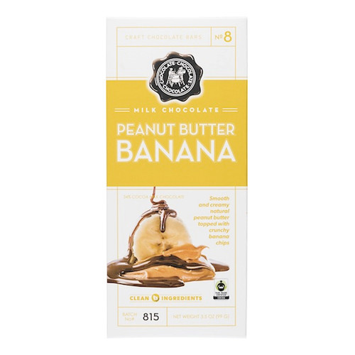 Milk Chocolate Bar - Peanut Butter Banana, 99g