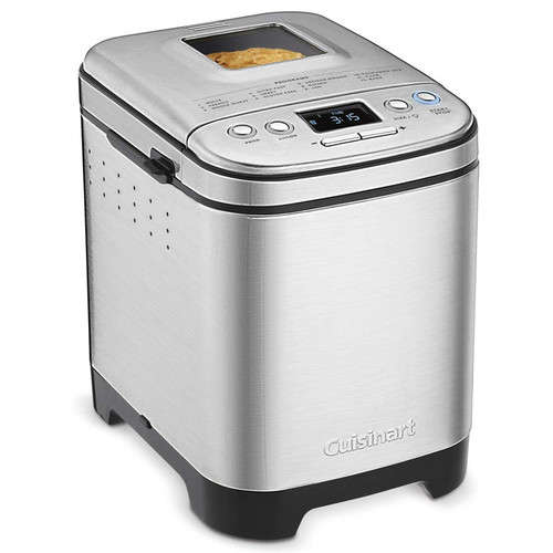 Compact Automatic Bread Maker - Stainless Steel
