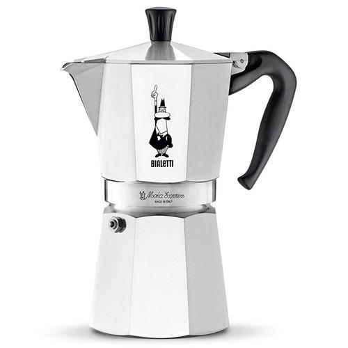 Moka Express Stovetop Coffee Maker, 9 Cup