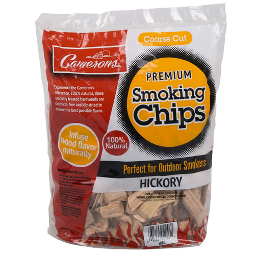 Premium Smoking Chips – Hickory, 2lbs