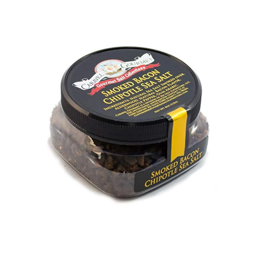 Smoked Bacon Chipotle Fine Sea Salt, 4oz