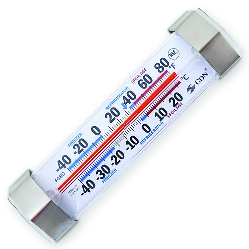 ProAccurate Refrigerator & Freezer Thermometer - FG80