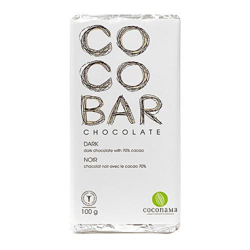COCOBAR Dark chocolate Bar, 100g