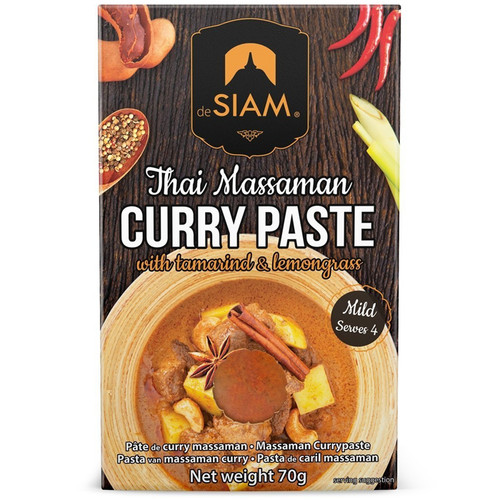 Cury Paste - Thai Massaman, 70g