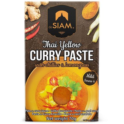 Curry Paste - Thai Yellow, 70g