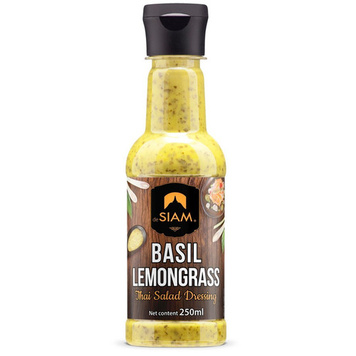 Thai Salad Dressing - Basil Lemongrass, 250ml