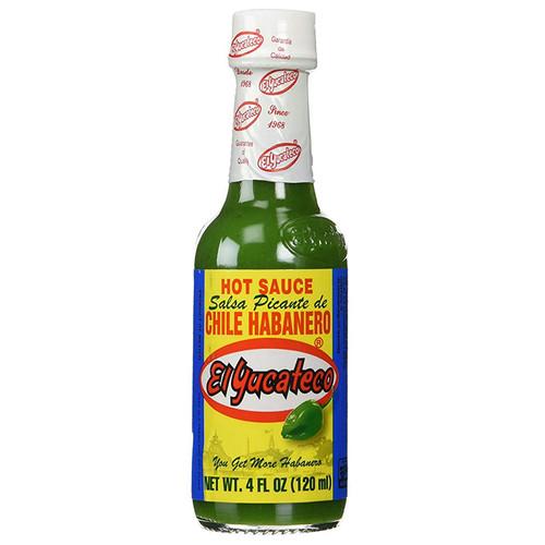 Green Habanero Hot Sauce, 120ml