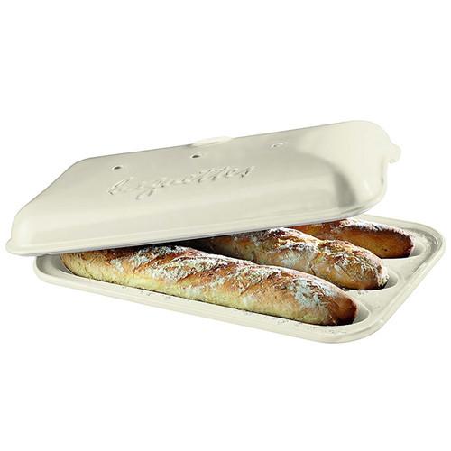 Baguette Baker - Linen, 15.4 x 9.4-in